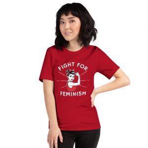 t-shirt vintage feministe
